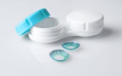 A kontaktlencsék ápolása