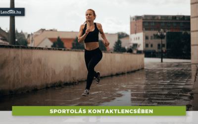 Kontaktlencse sportoláshoz? Mutatjuk az előnyöket!